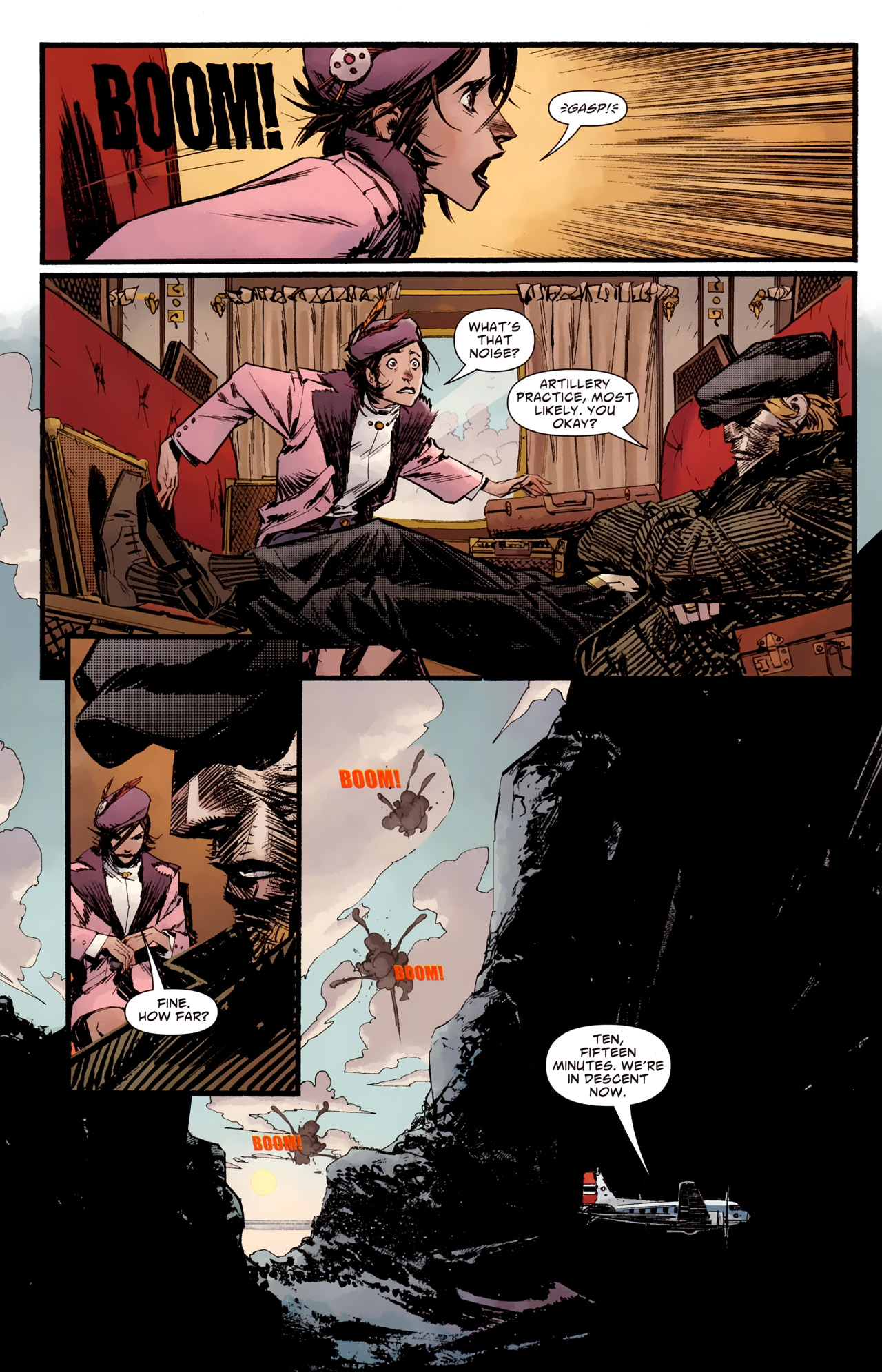 Read online American Vampire: Survival of the Fittest comic -  Issue #2 - 6