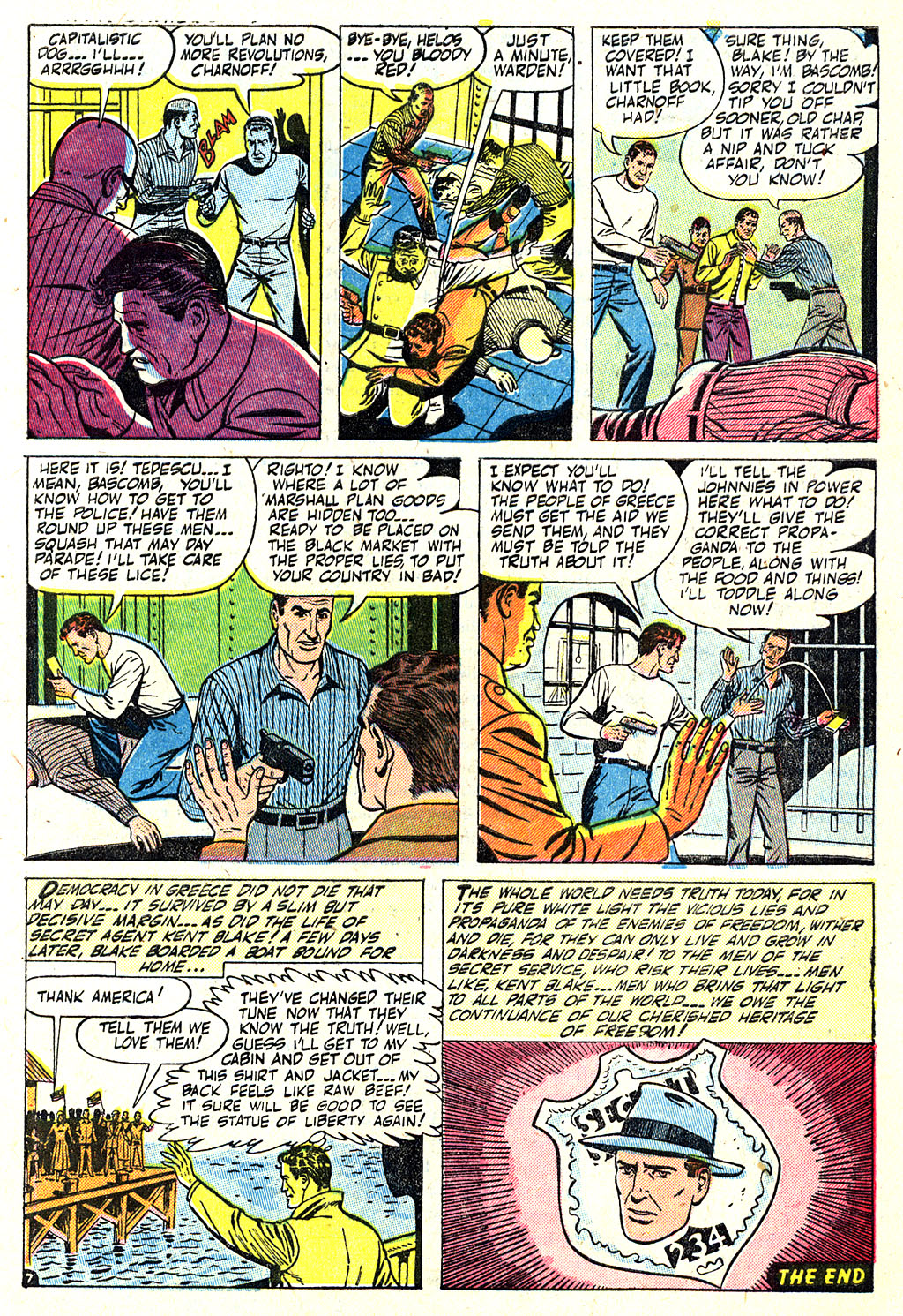 Kent Blake of the Secret Service issue 5 - Page 9