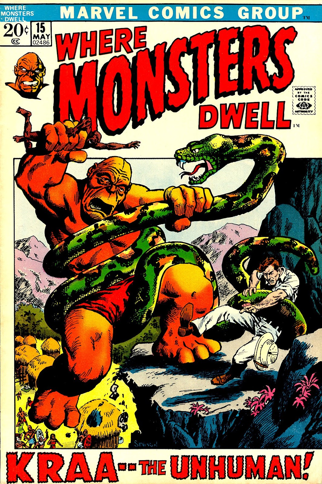 Where Monsters Dwell (1970) issue 15 - Page 1