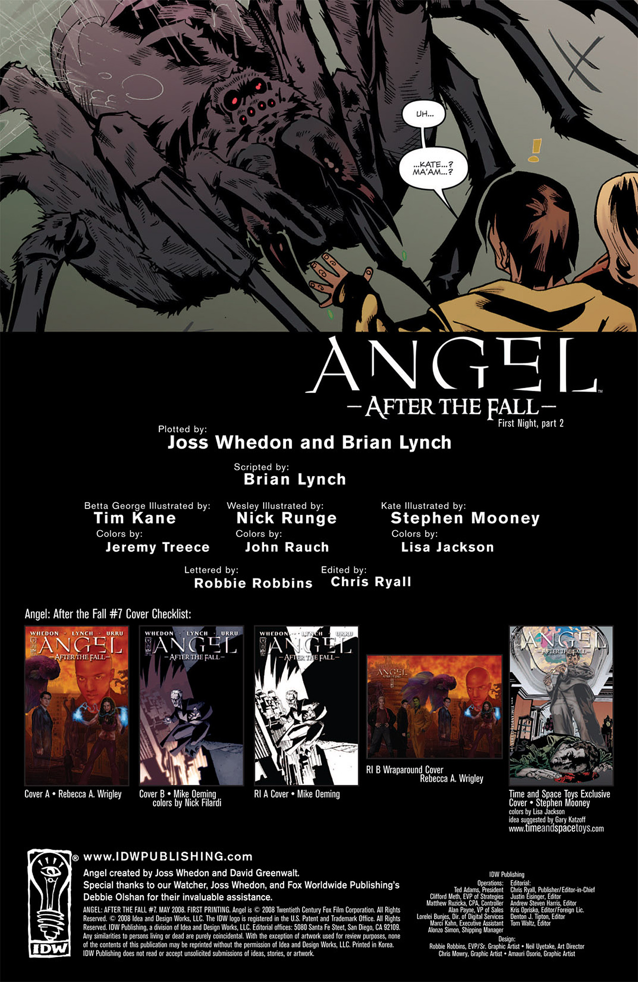 Read online Angel: After The Fall comic -  Issue #7 - 3