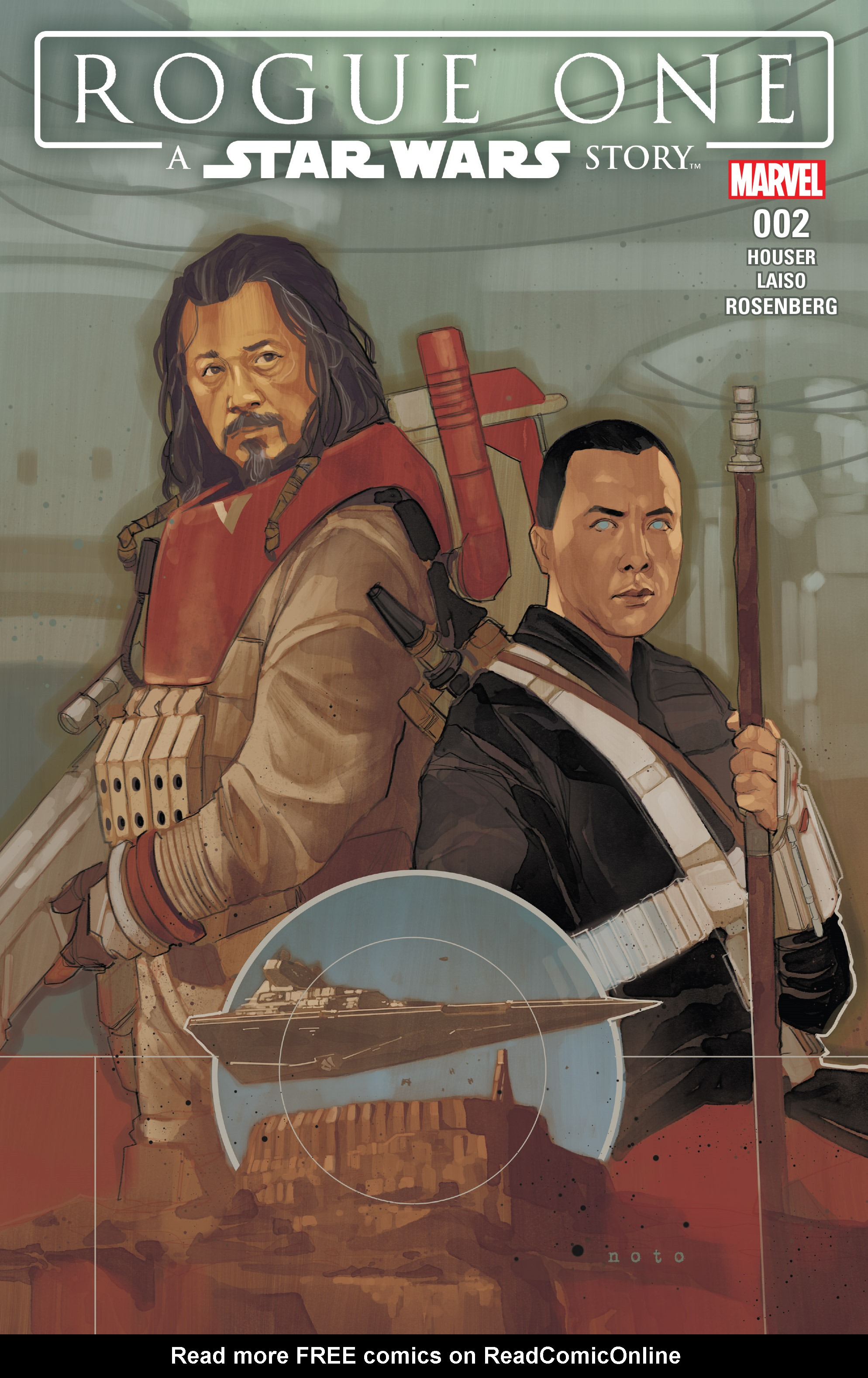 Read online Star Wars: Rogue One Adaptation comic -  Issue #2 - 1
