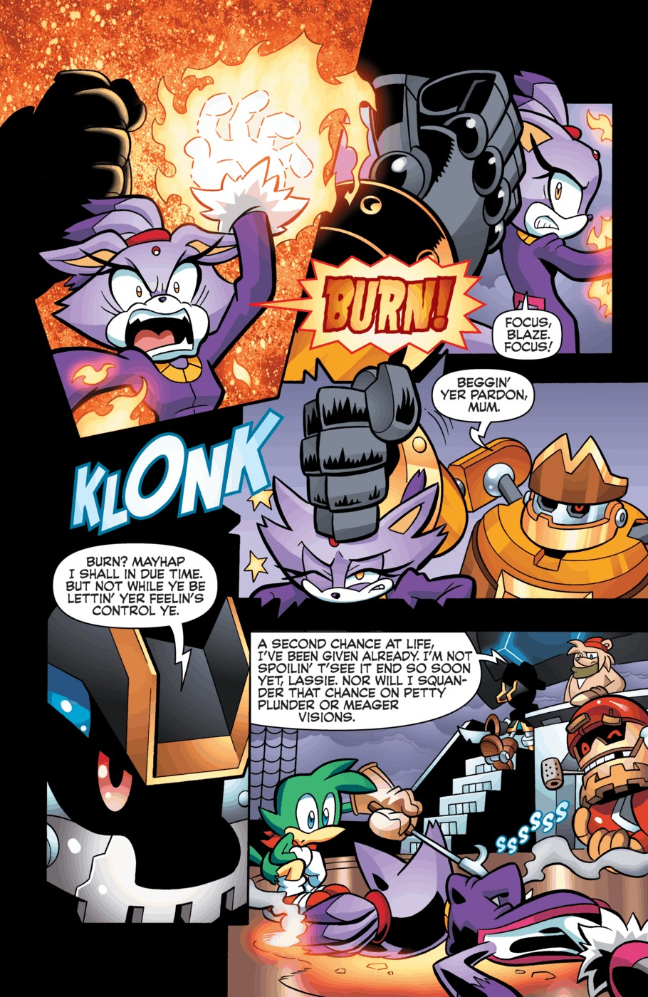 Read online Sonic Universe comic -  Issue #55 - 21