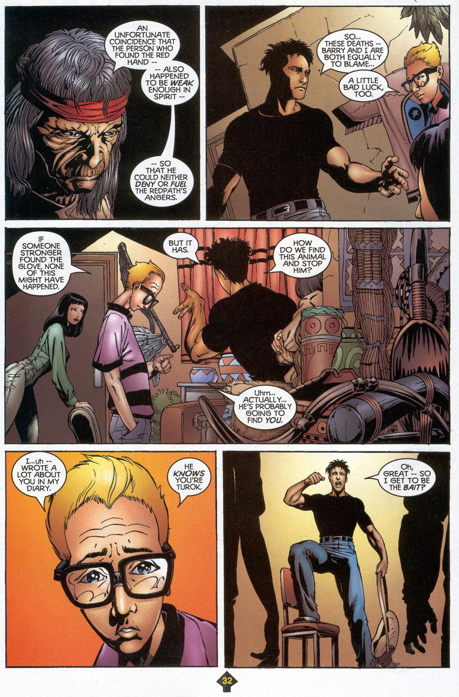 Read online Turok: Redpath comic -  Issue # Full - 30