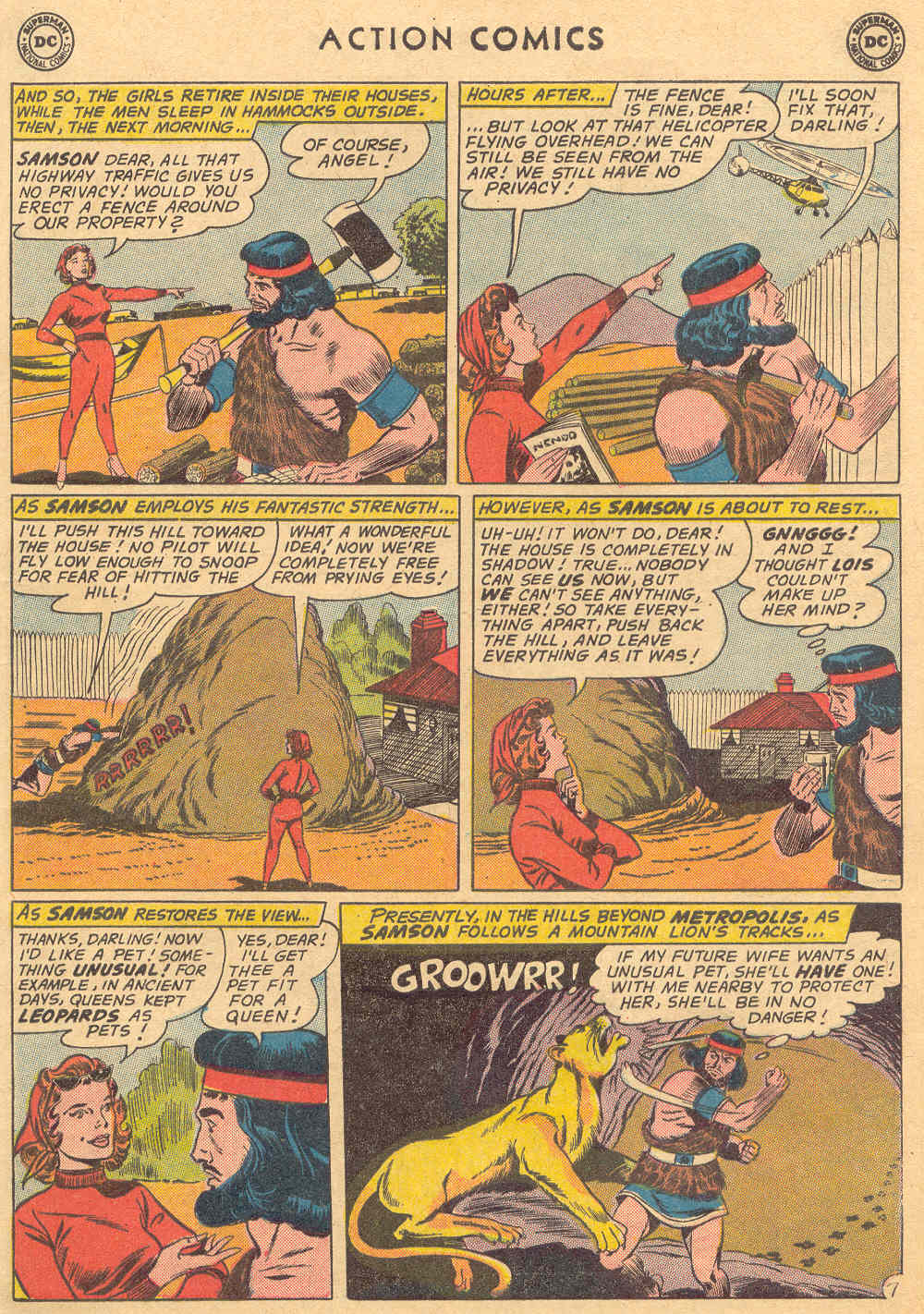 Read online Action Comics (1938) comic -  Issue #279 - 9