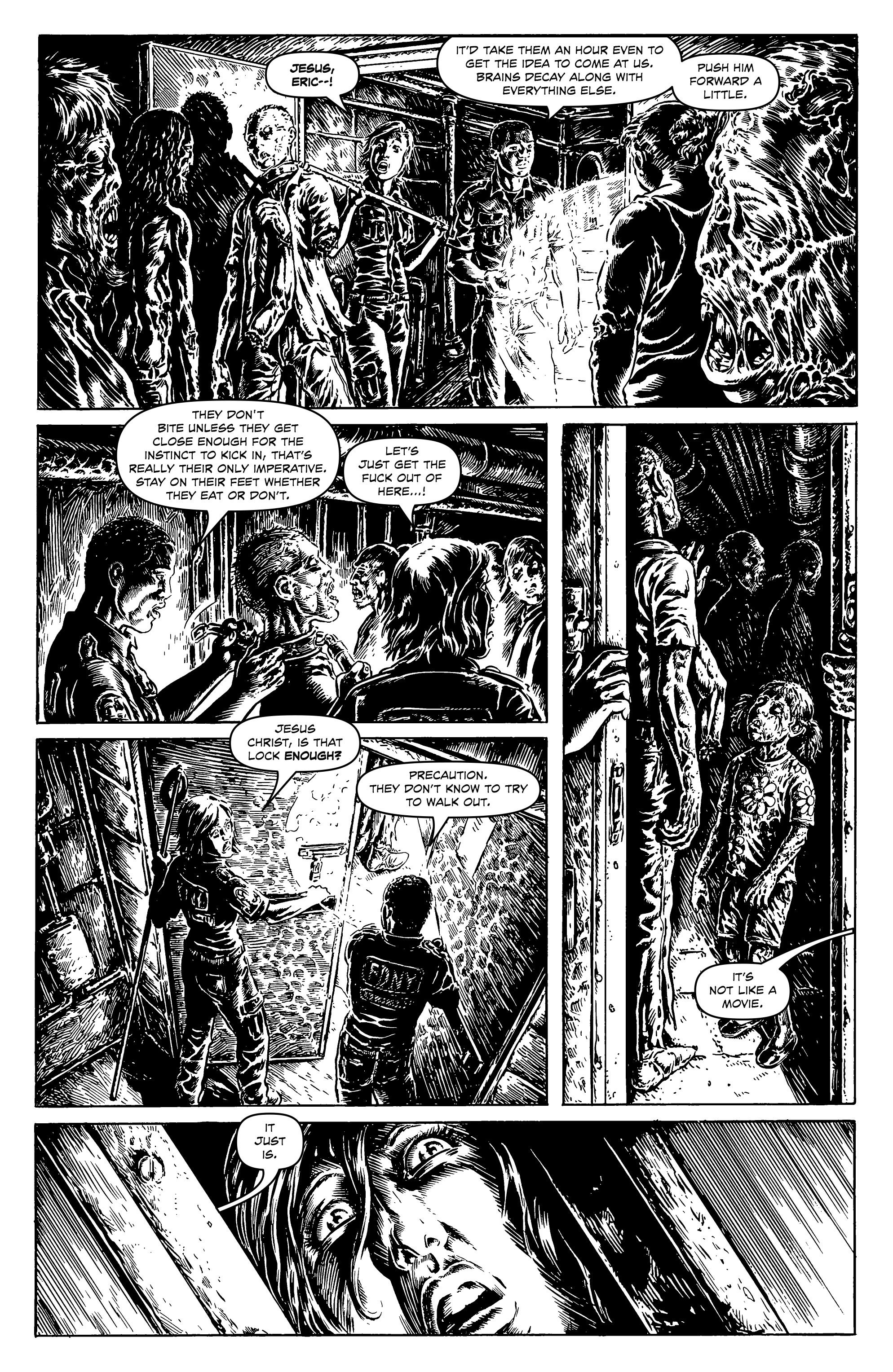 Read online Alan Moore's Cinema Purgatorio comic -  Issue #9 - 21