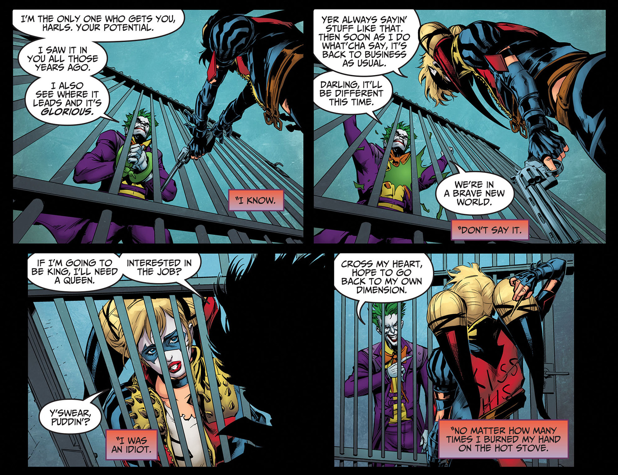 Read online Injustice: Ground Zero comic -  Issue #14 - 16