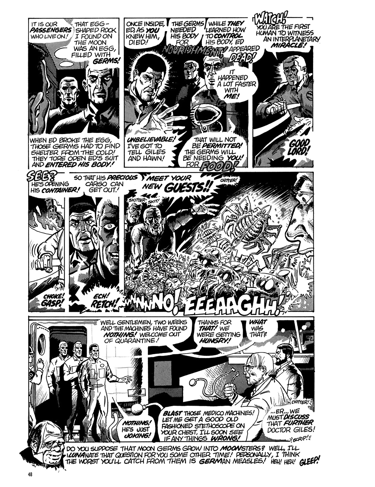 Read online Eerie Archives comic -  Issue # TPB 6 - 49