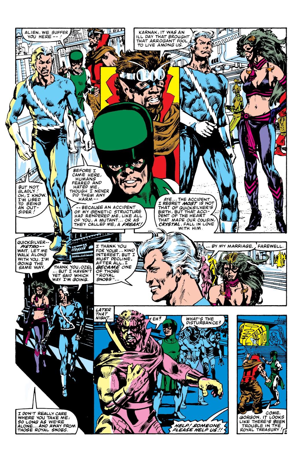 Read online Marvel Masterworks: The Inhumans comic -  Issue # TPB 2 (Part 3) - 105