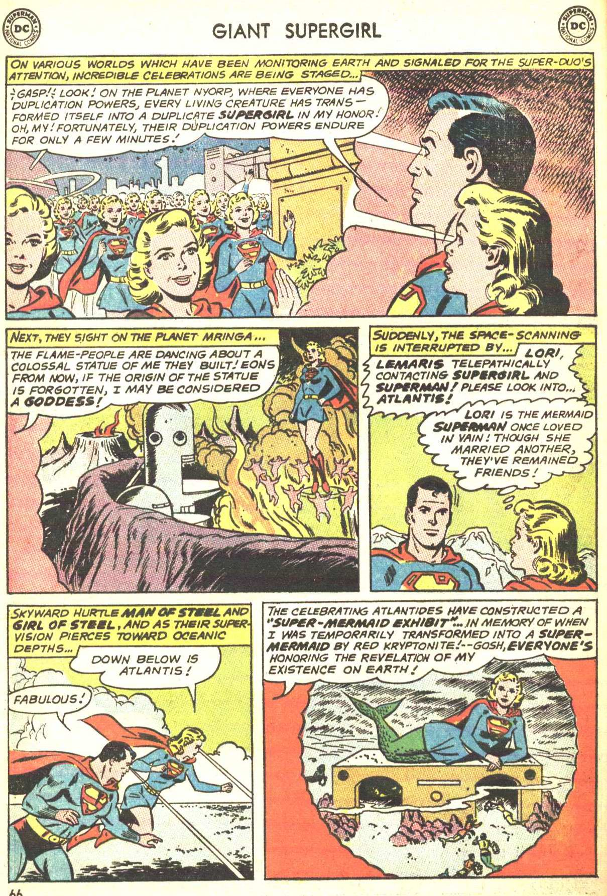 Read online Action Comics (1938) comic -  Issue #360 - 65