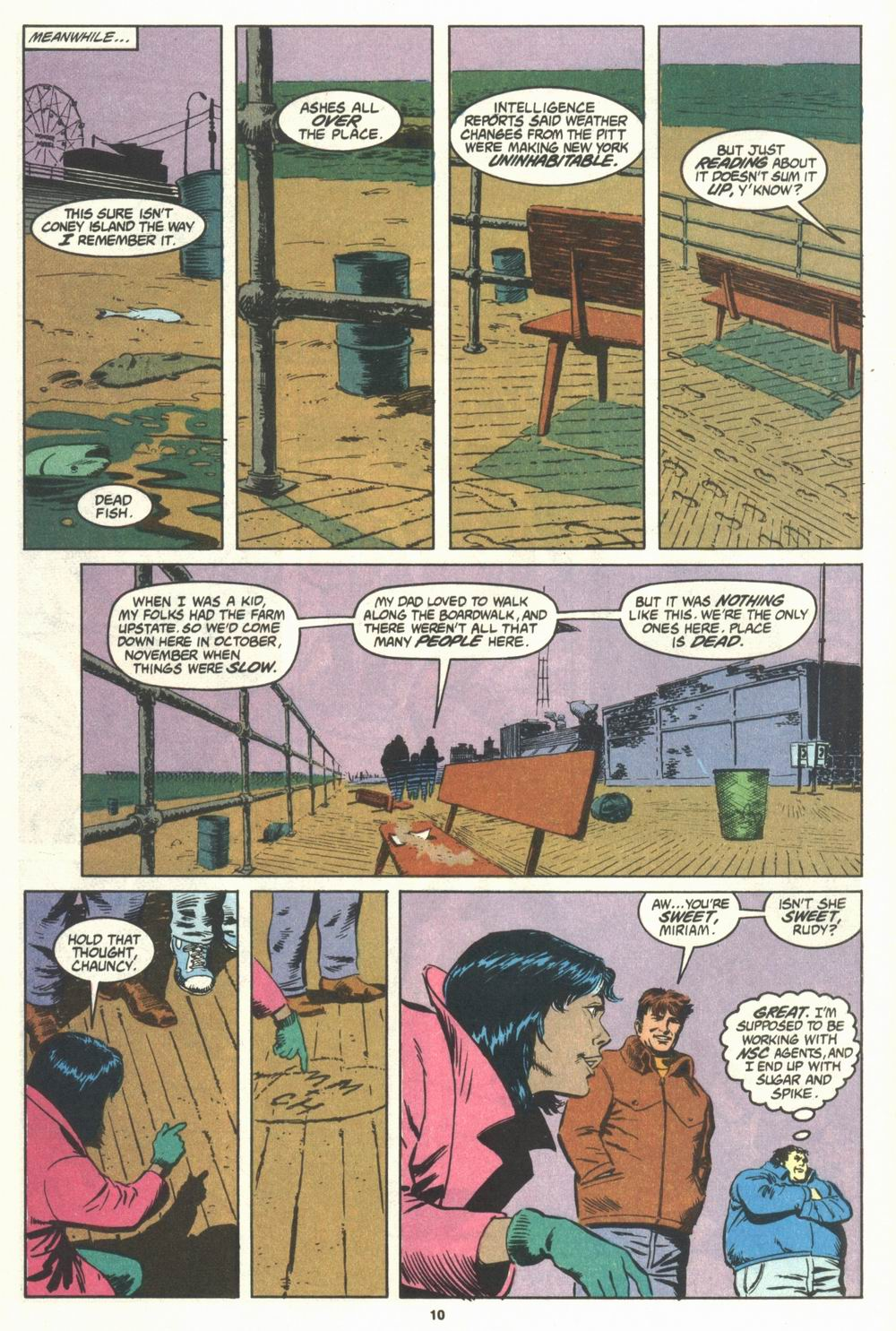 Read online Justice (1986) comic -  Issue #29 - 11
