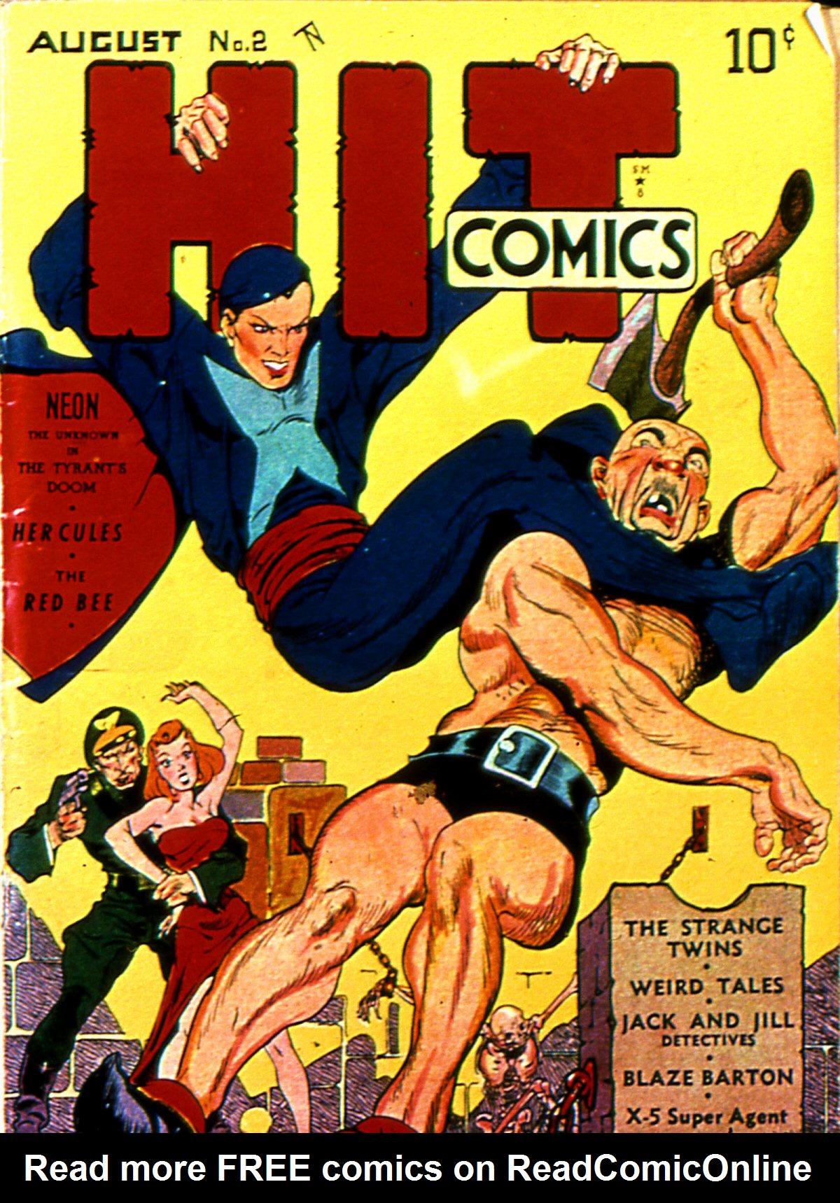Read online Hit Comics comic -  Issue #2 - 1