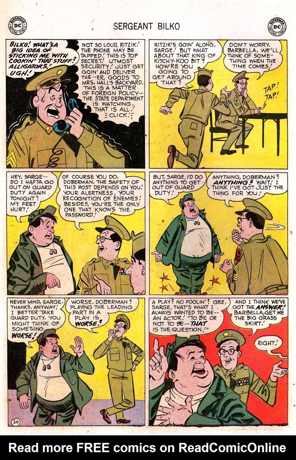 Sergeant Bilko issue 7 - Page 22
