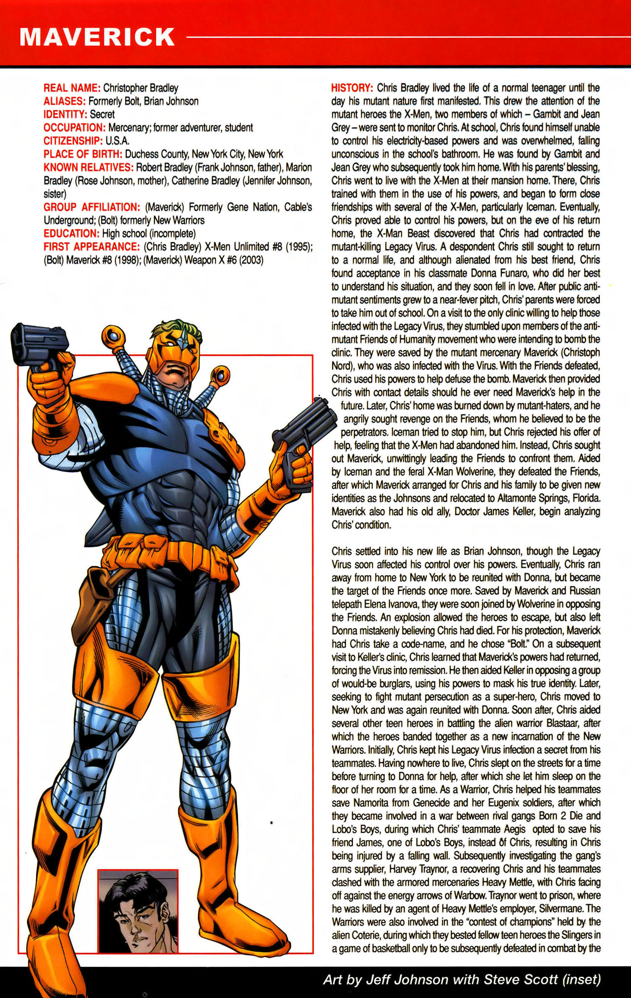Read online All-New Official Handbook of the Marvel Universe A to Z comic -  Issue #7 - 22