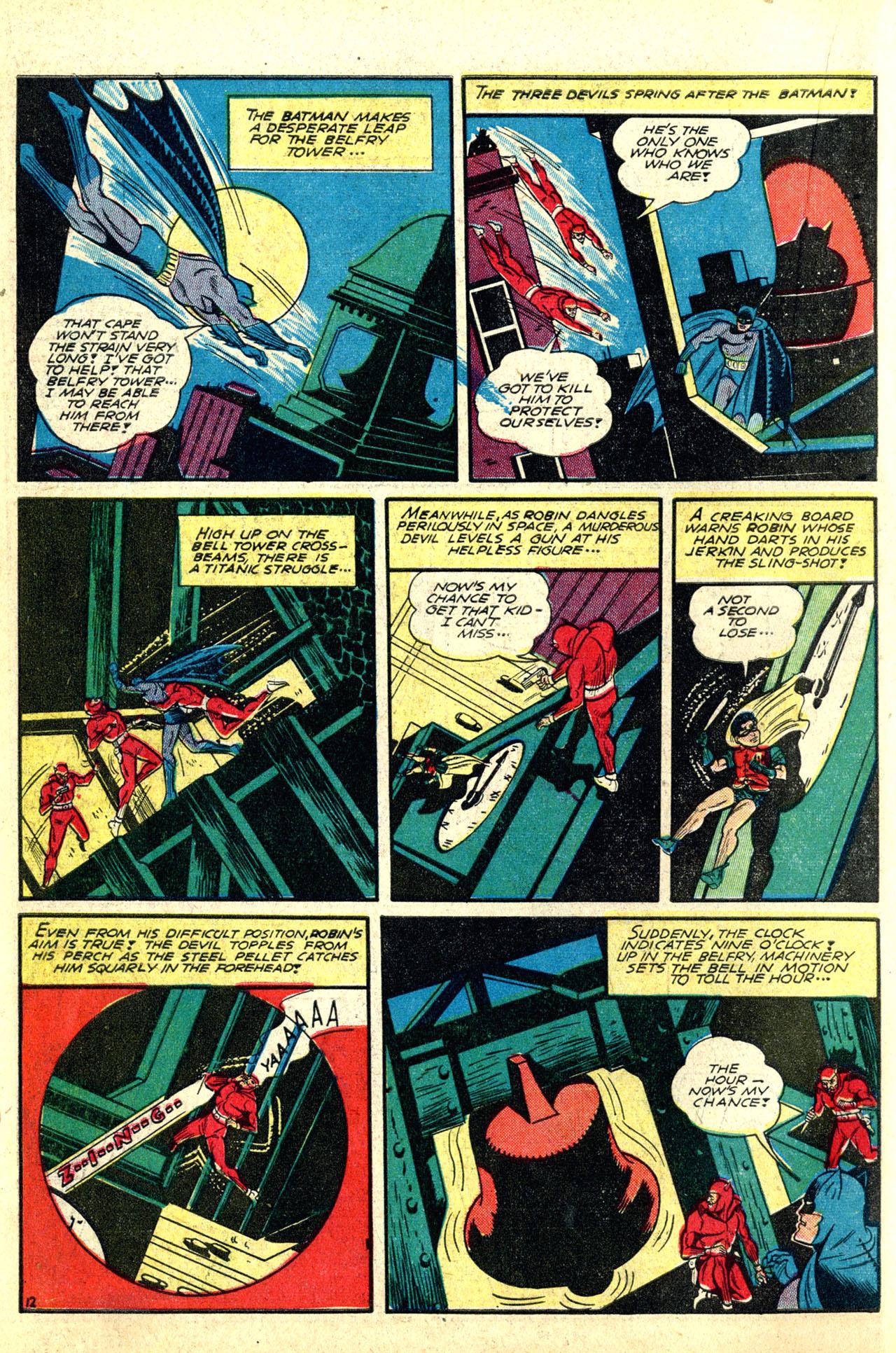 Read online Detective Comics (1937) comic -  Issue #50 - 14