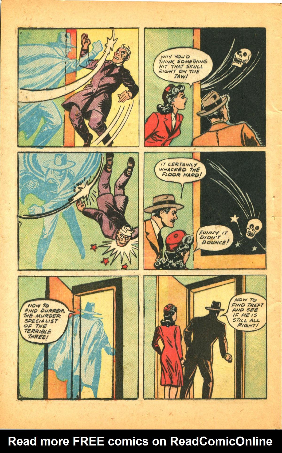Read online Shadow Comics comic -  Issue #38 - 56