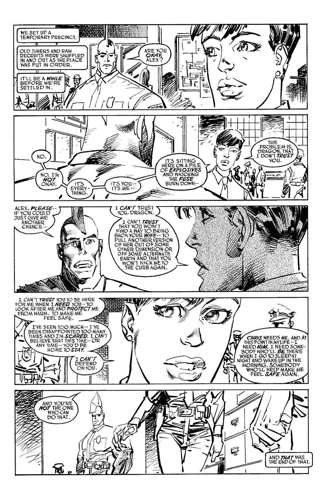 Read online Savage Dragon Archives comic -  Issue # TPB 6 (Part 5) - 4