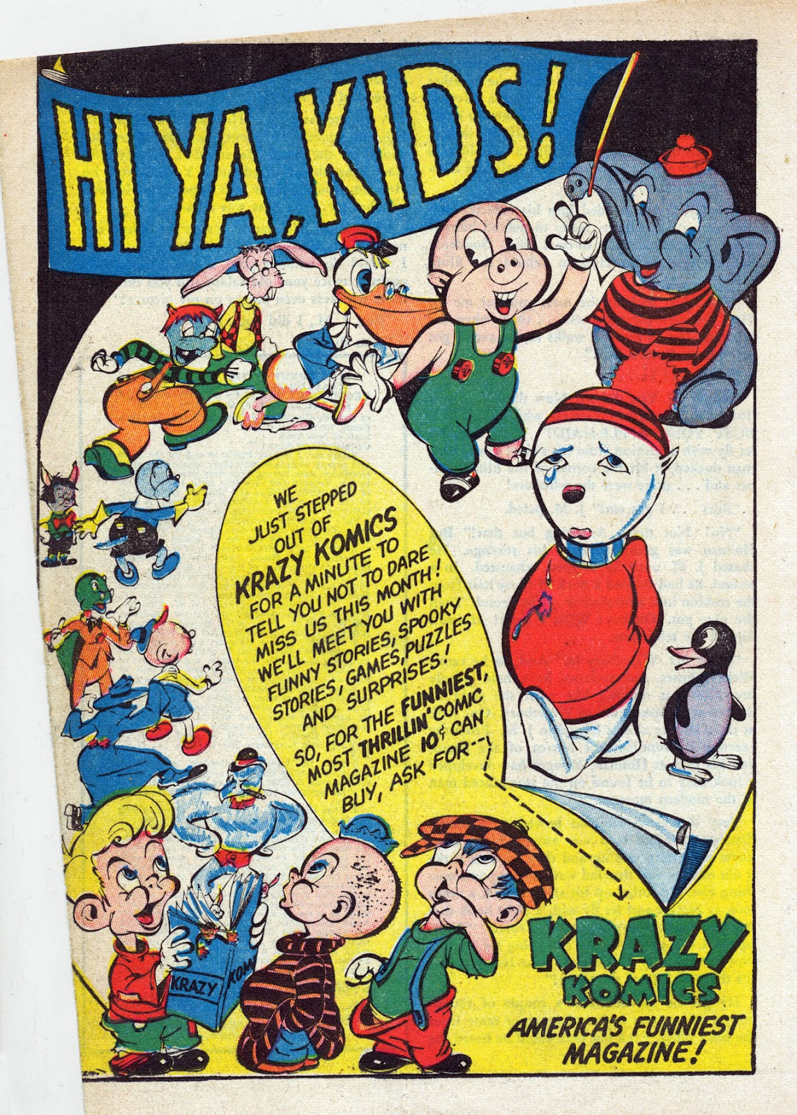 Read online Comedy Comics (1942) comic -  Issue #13 - 35