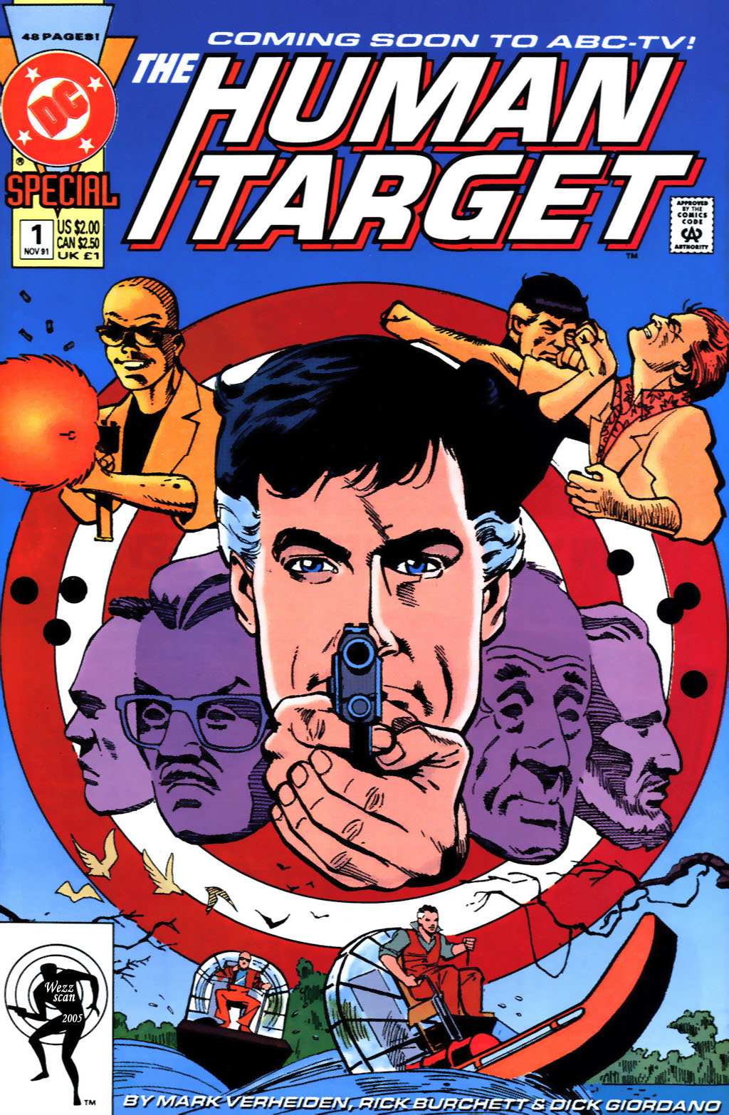 Human Target Special issue Full - Page 1