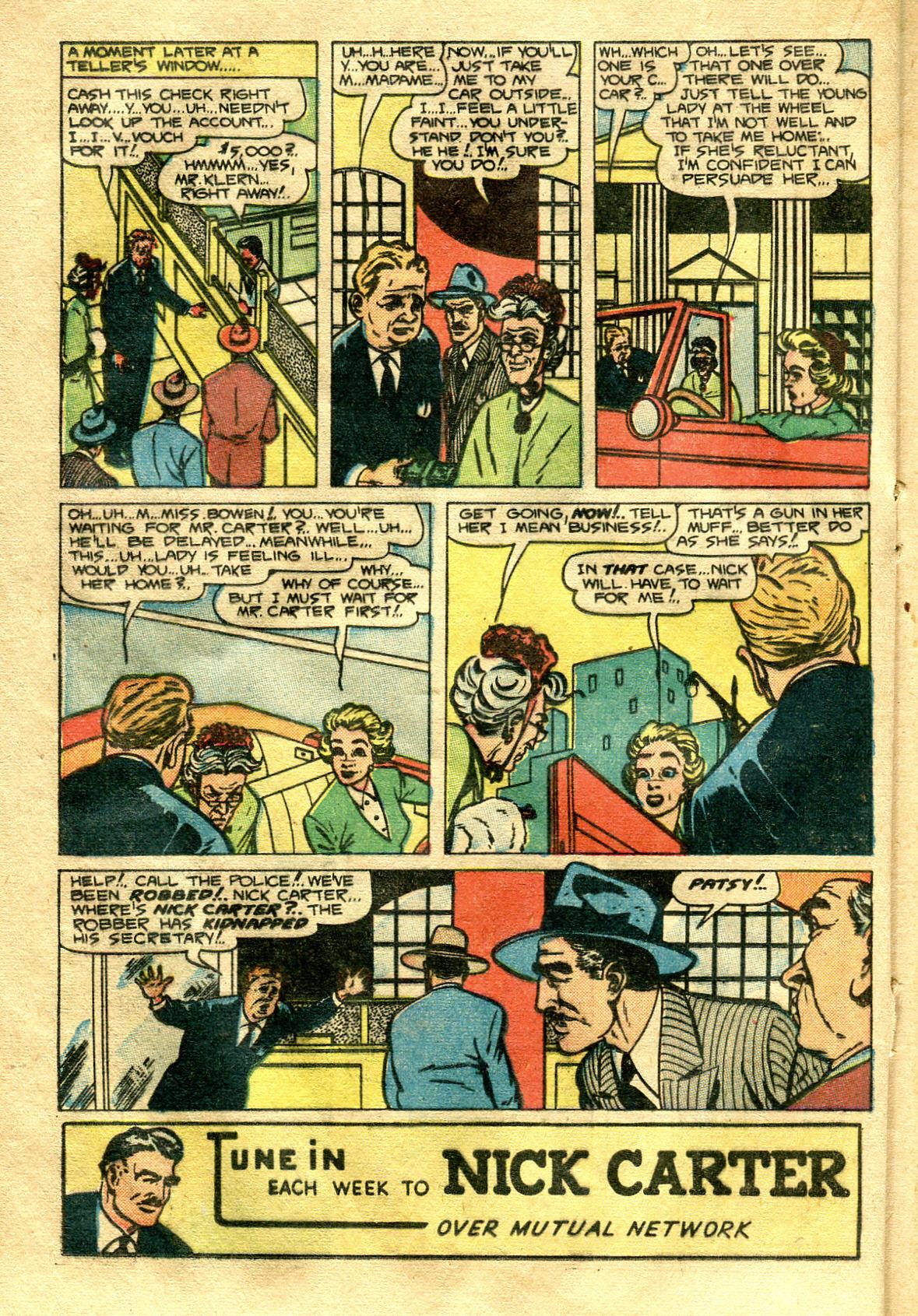 Read online Shadow Comics comic -  Issue #99 - 30