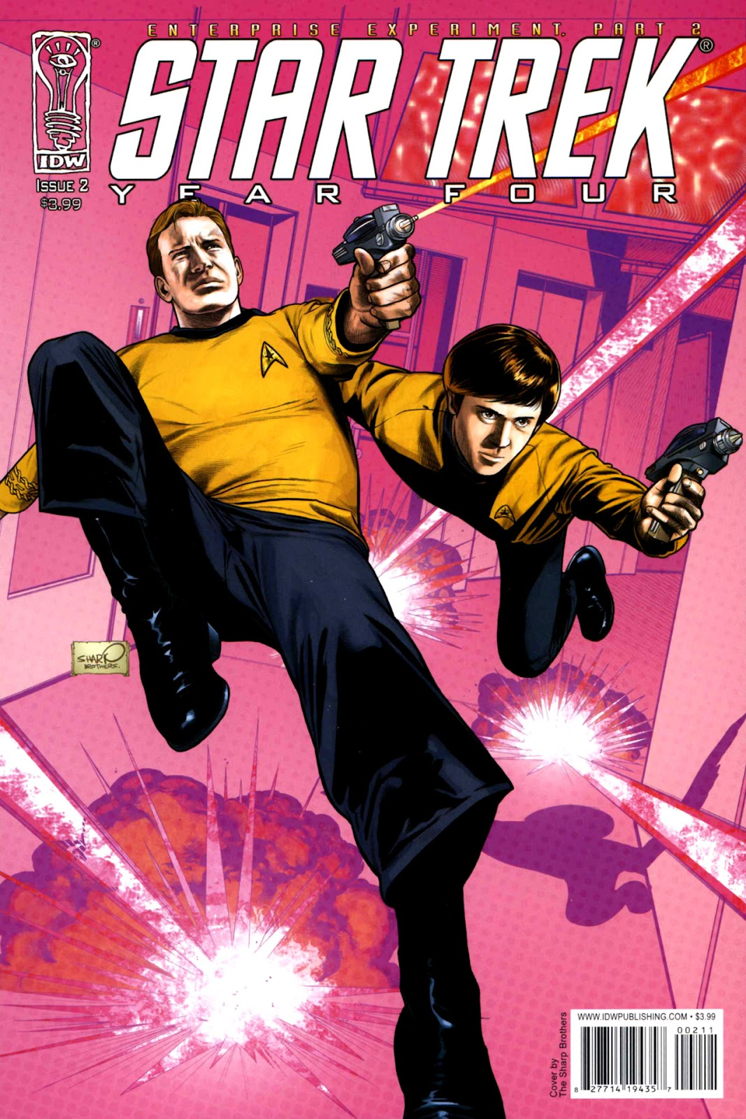 Star Trek Year Four: The Enterprise Experiment issue 2 - Page 1