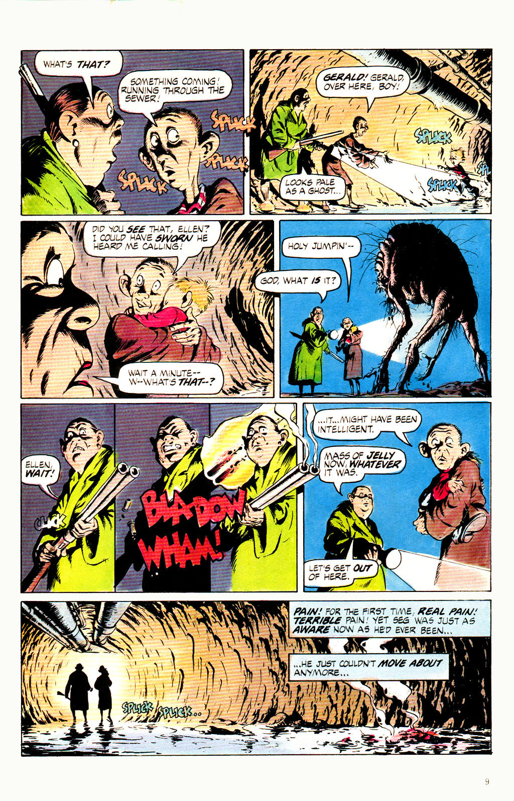 Read online Twisted Tales (1982) comic -  Issue #8 - 11