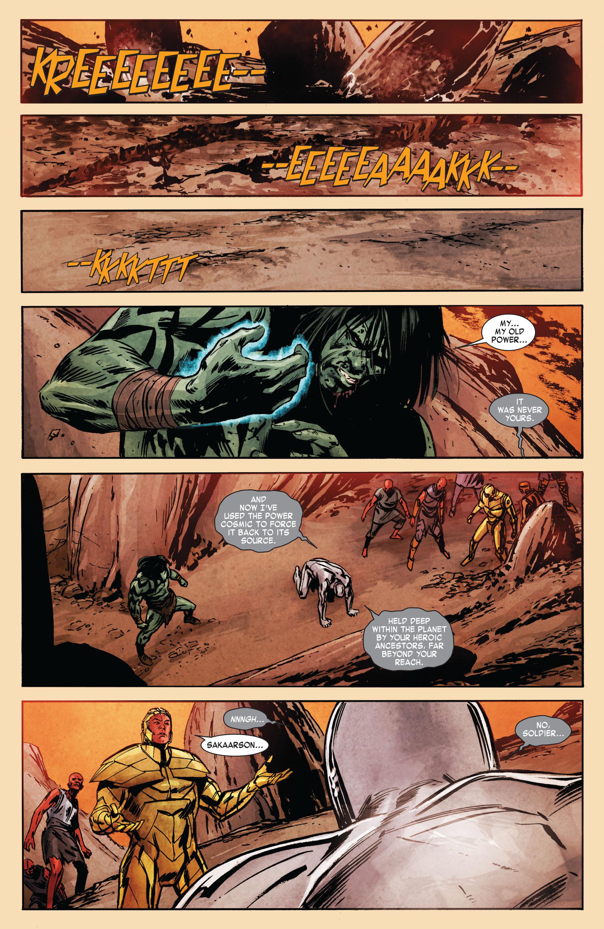 Read online Skaar: Son of Hulk comic -  Issue #7 - 20
