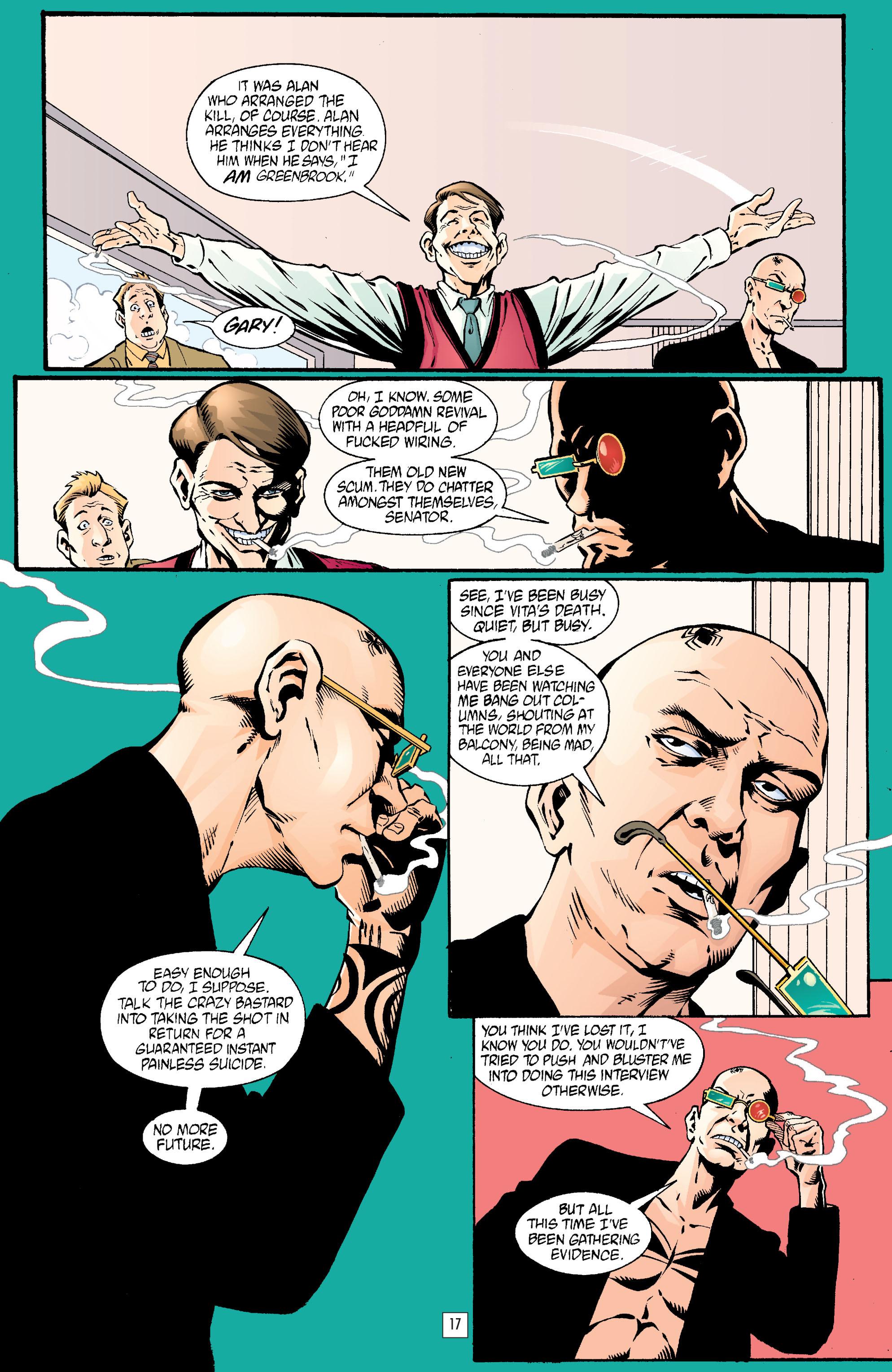 Read online Transmetropolitan comic -  Issue #23 - 18