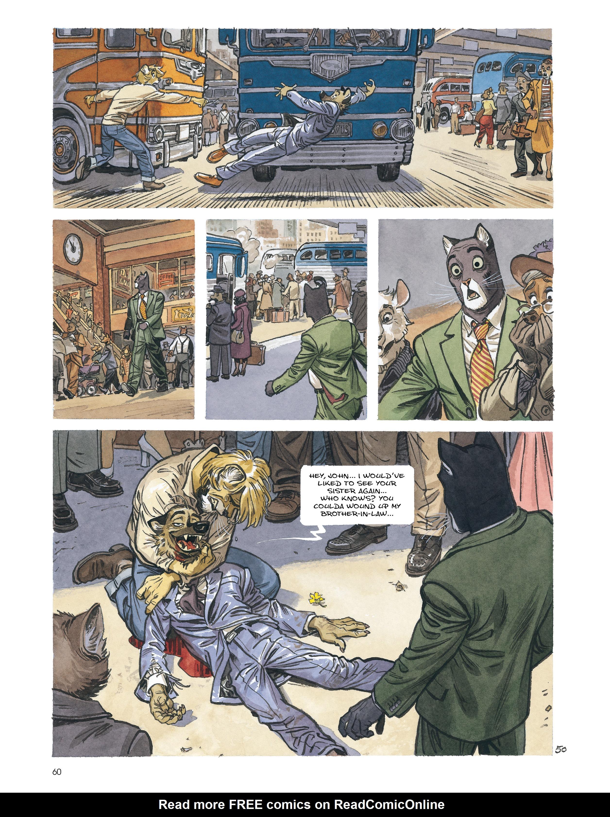 Read online Blacksad: Amarillo comic -  Issue # Full - 59