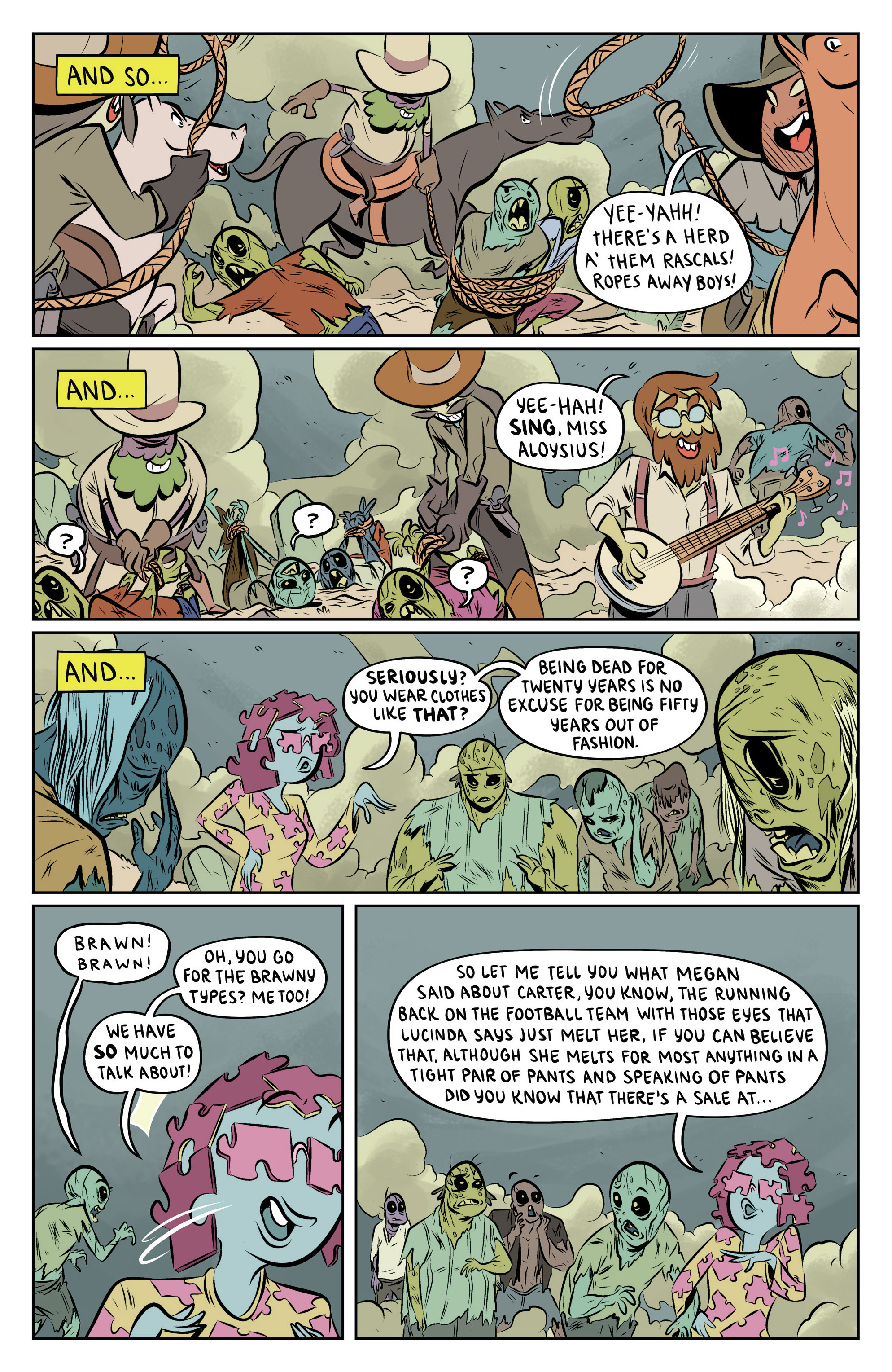 Read online Adventure Time: The Flip Side comic -  Issue #6 - 17