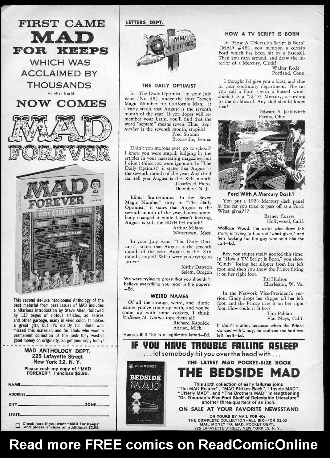 Comic MAD issue 50