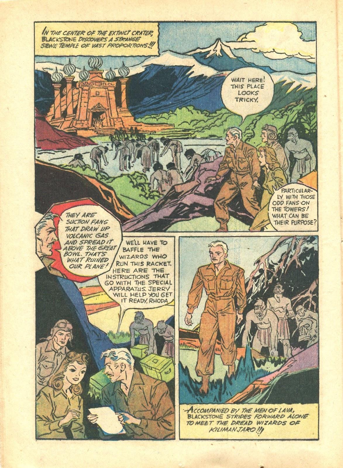 Read online Super-Magician Comics comic -  Issue #21 - 20
