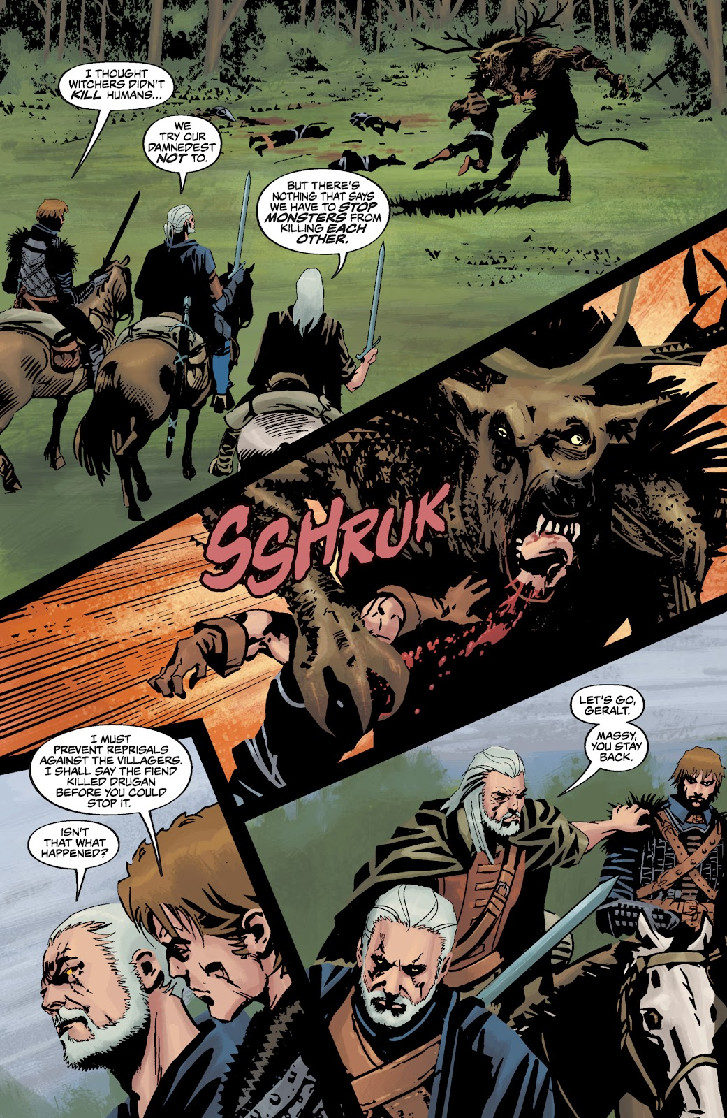 Read online The Witcher Omnibus comic -  Issue # TPB (Part 3) - 88