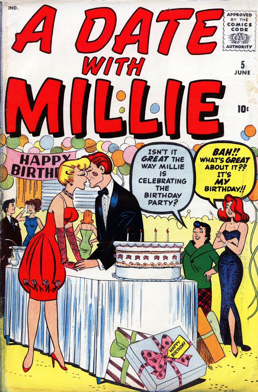 A Date with Millie (1959) issue 5 - Page 1