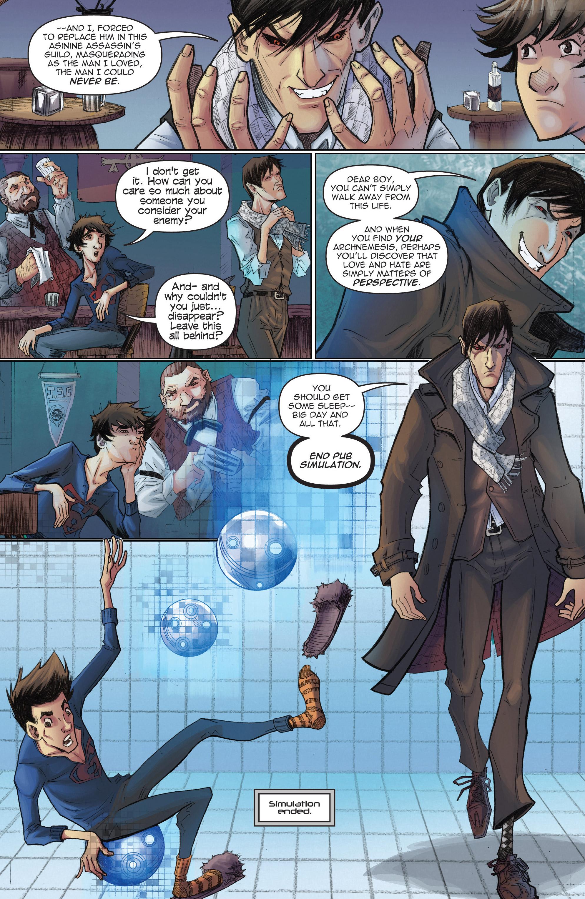 Read online Infinite Seven comic -  Issue #3 - 9