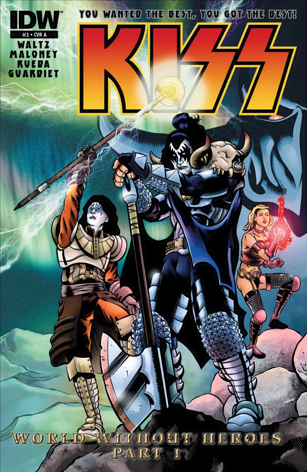 Read online KISS (2012) comic -  Issue #3 - 2
