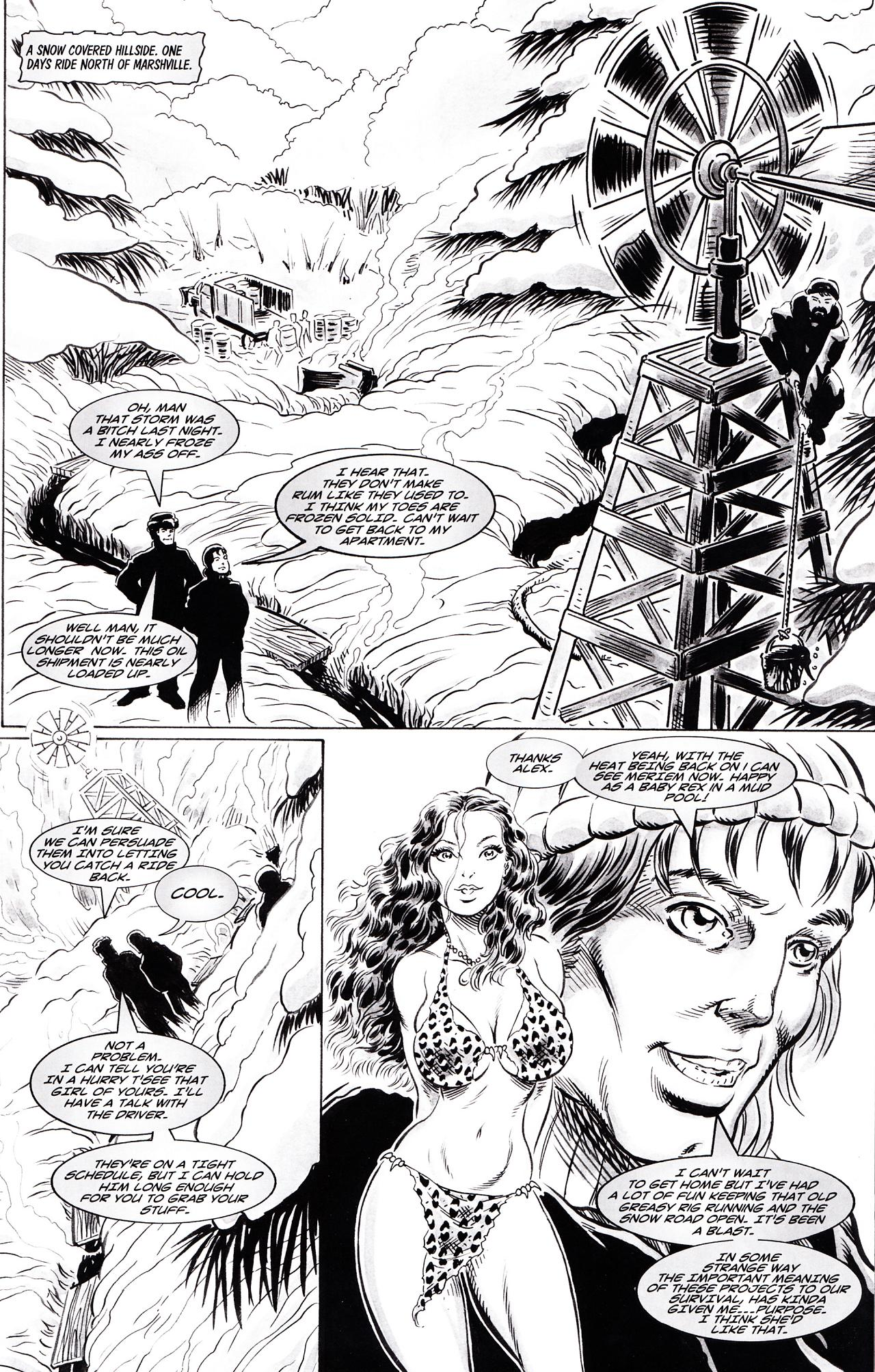 Cavewoman Snow Issue 2 | Viewcomic reading comics online for