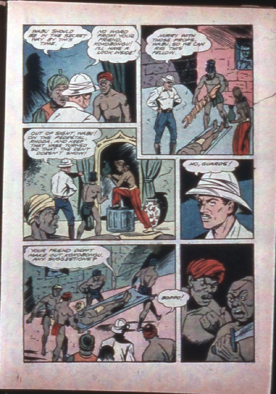 Read online Super-Magician Comics comic -  Issue #7 - 29