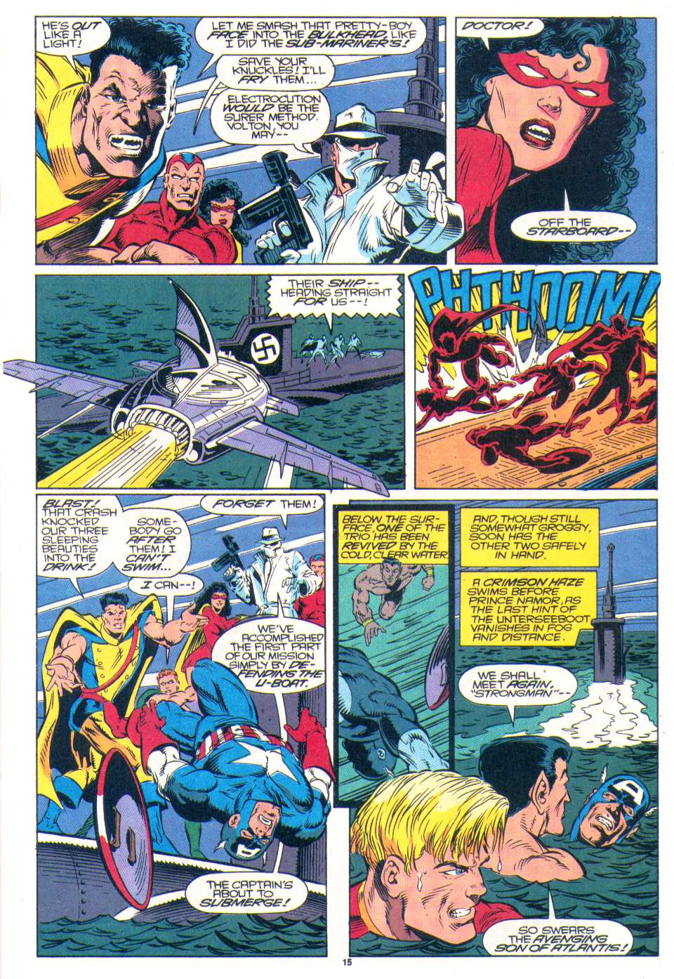 Read online The Invaders (1993) comic -  Issue #1 - 13