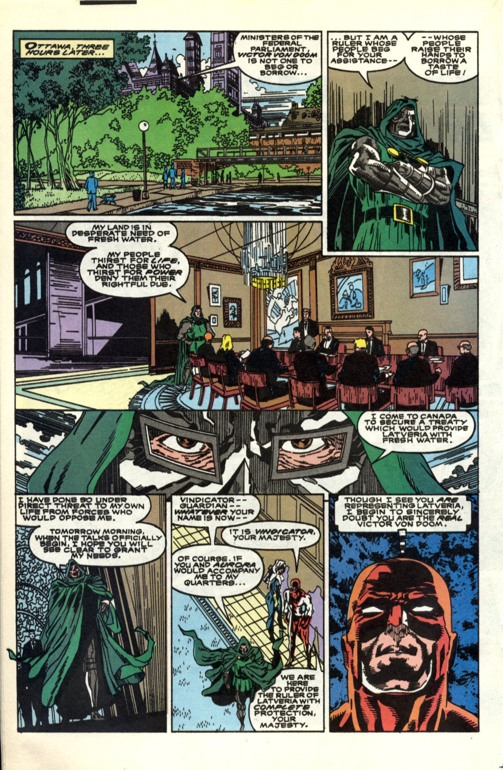 Read online Alpha Flight (1983) comic -  Issue #91 - 14