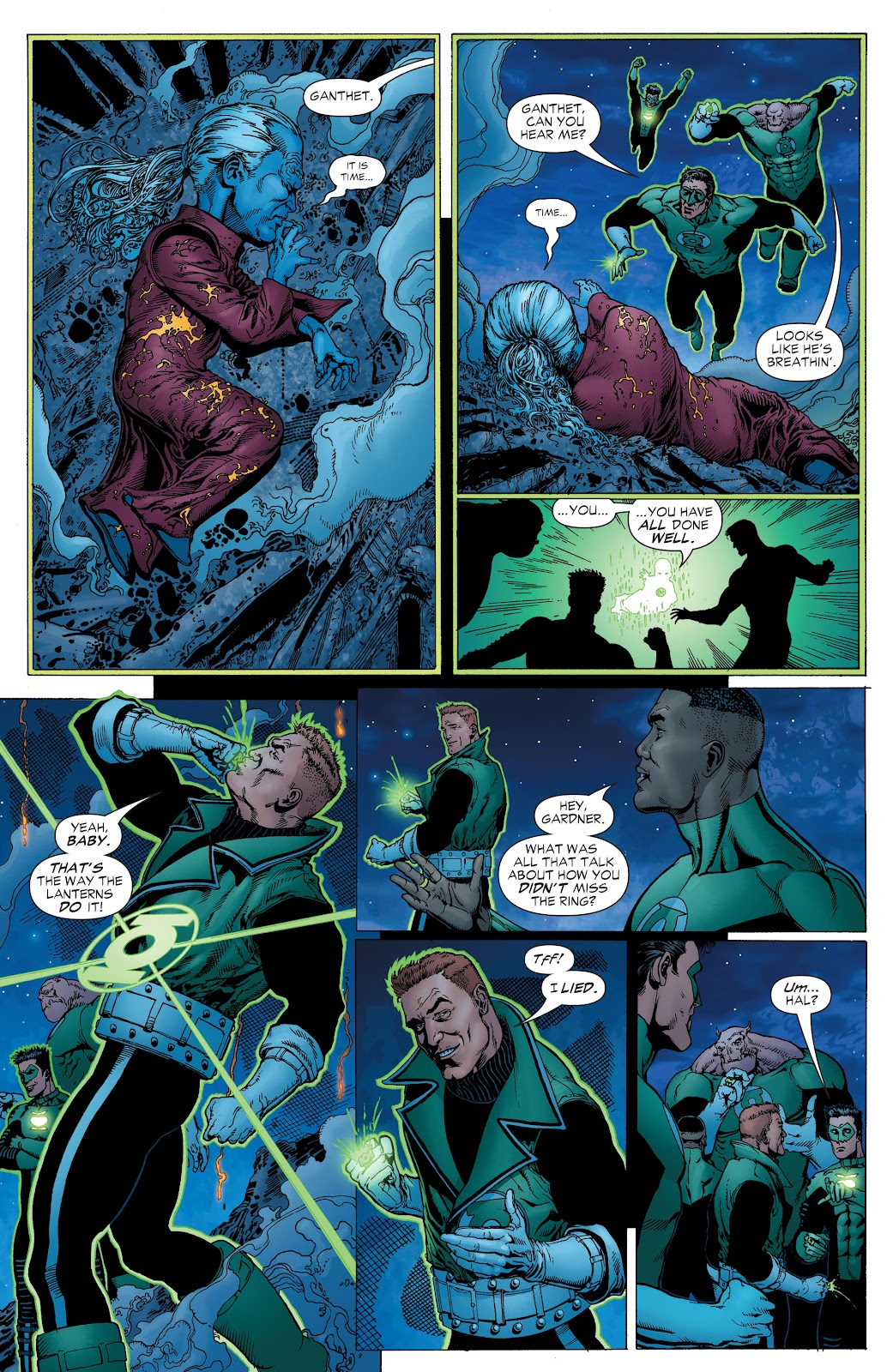 Read online Green Lantern by Geoff Johns comic -  Issue # TPB 1 (Part 2) - 47