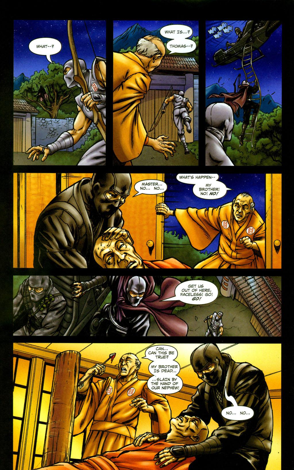Read online Snake Eyes: Declassified comic -  Issue #5 - 12