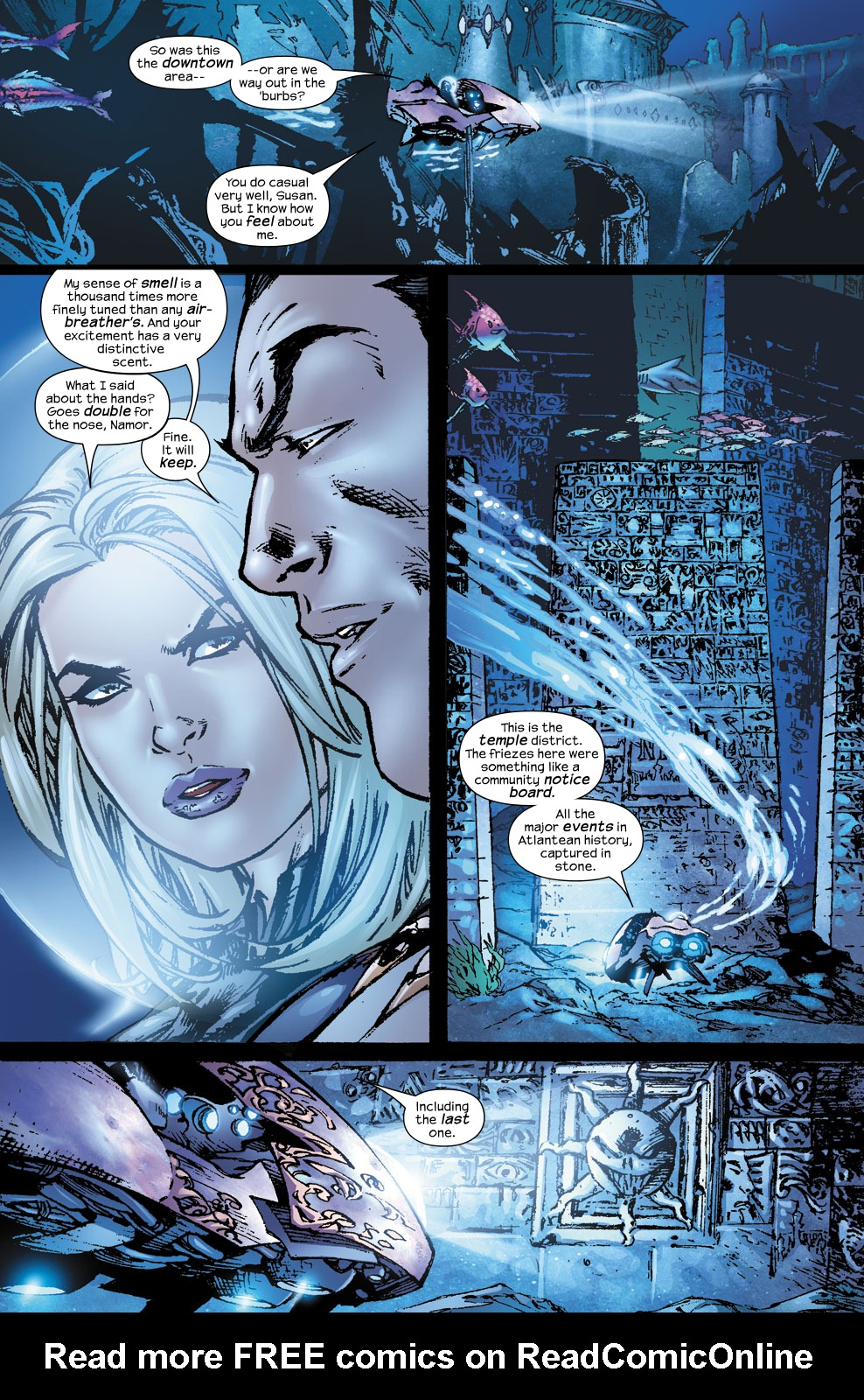 Read online Ultimate Fantastic Four (2004) comic -  Issue #56 - 14