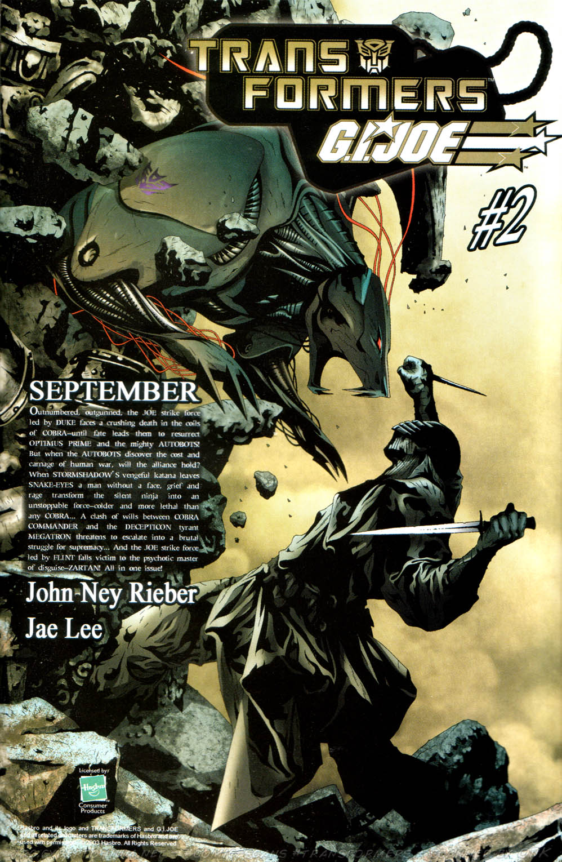 Read online Transformers Armada comic -  Issue #13 - 27