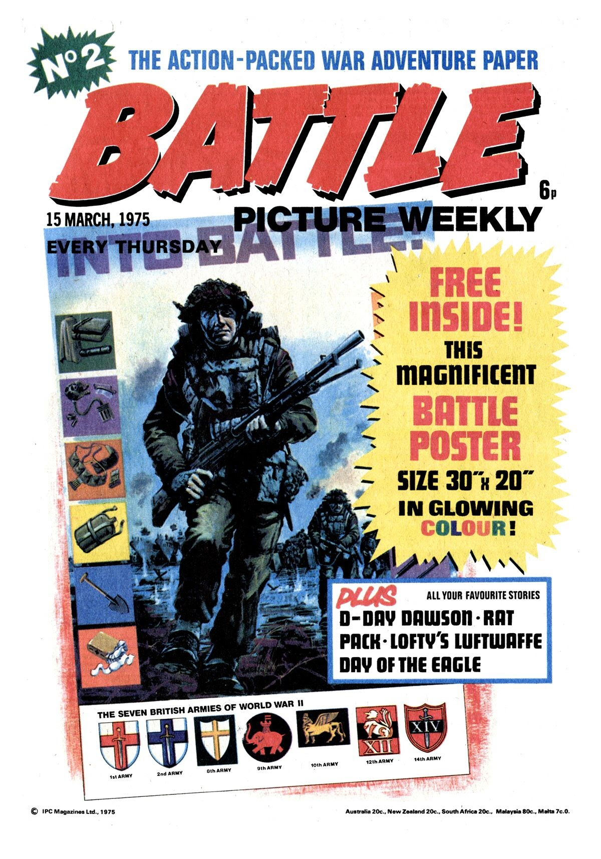 Battle Picture Weekly 2 Page 1