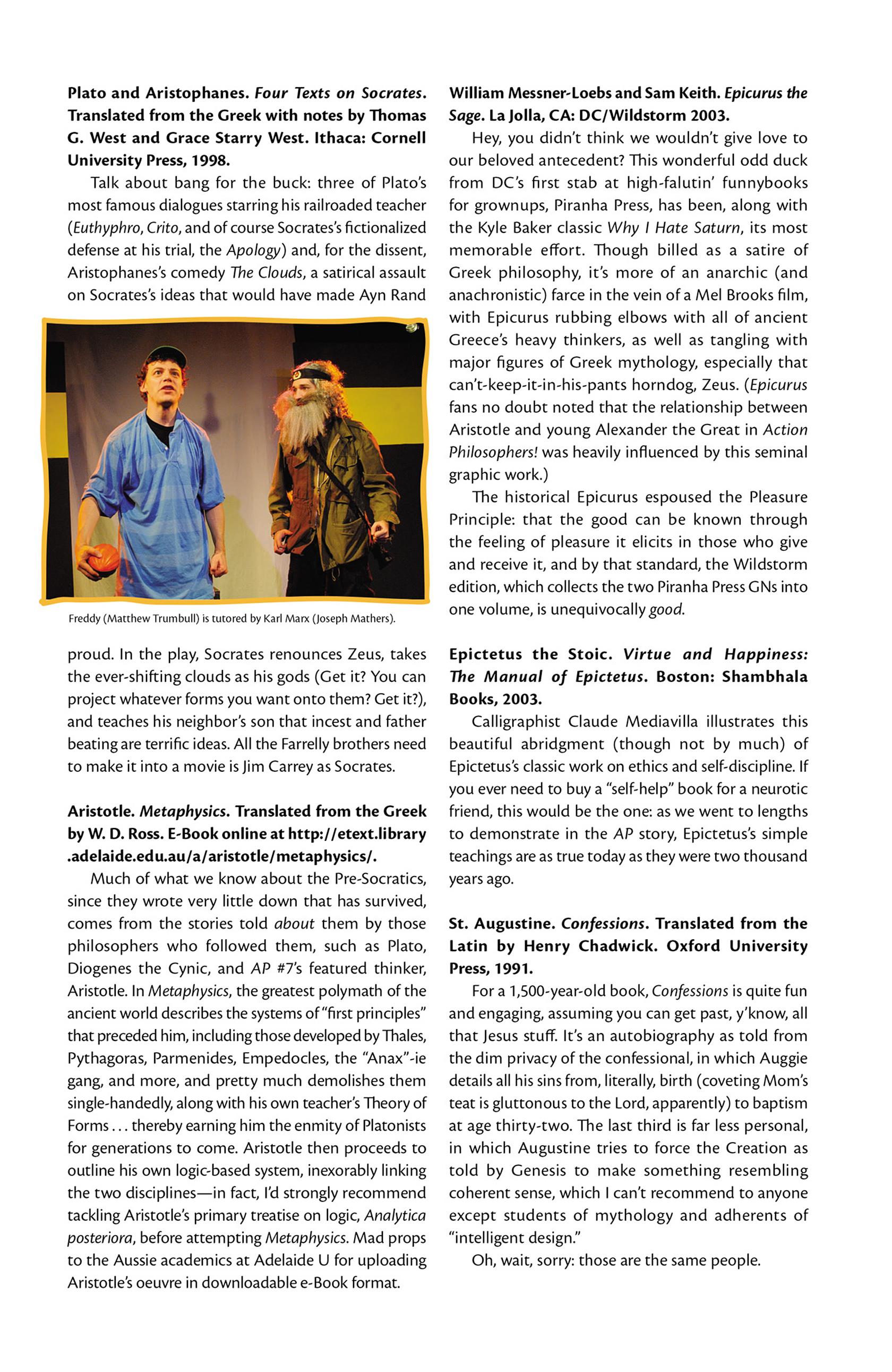 Read online Action Philosophers! comic -  Issue #Action Philosophers! TPB (Part 2) - 171