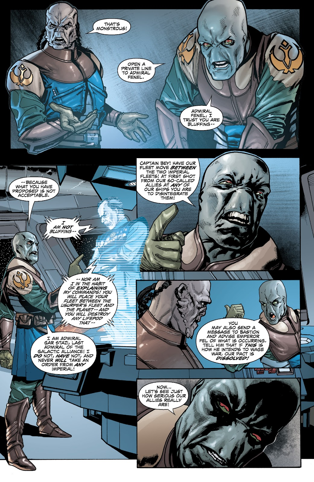Read online Star Wars Legends: Legacy - Epic Collection comic -  Issue # TPB 2 (Part 5) - 3