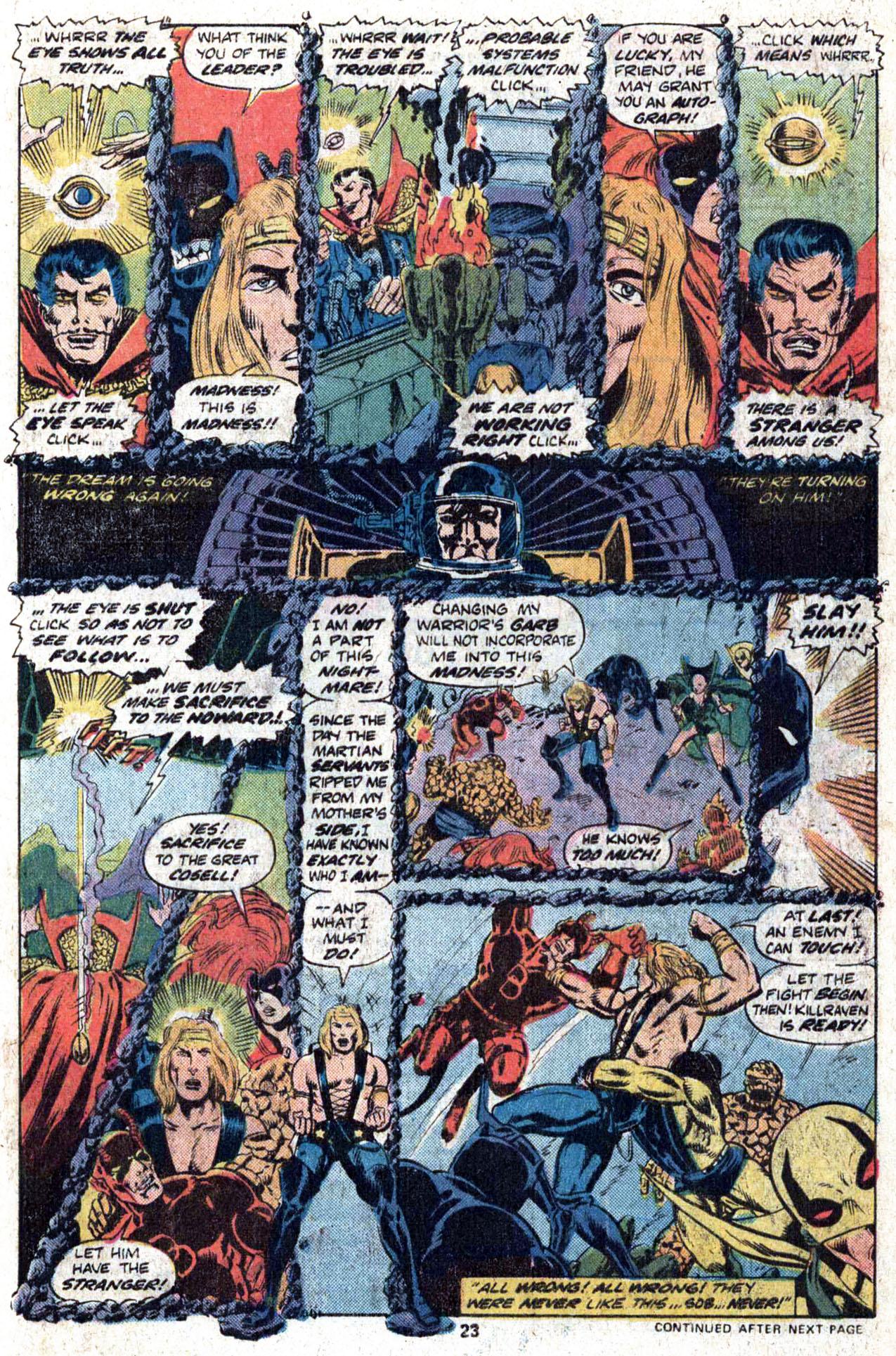 Read online Amazing Adventures (1970) comic -  Issue #38 - 25