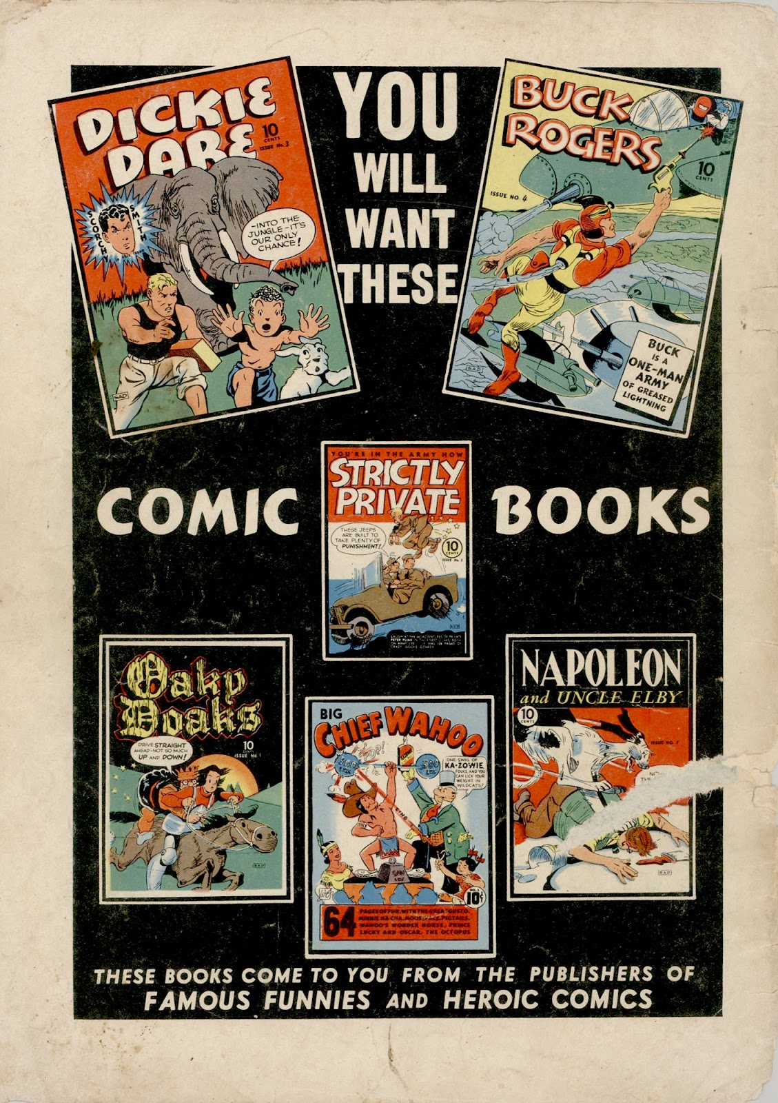 Read online Famous Funnies comic -  Issue #98 - 61