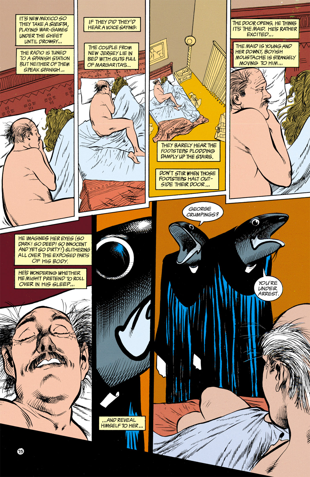 Read online Shade, the Changing Man comic -  Issue #13 - 16