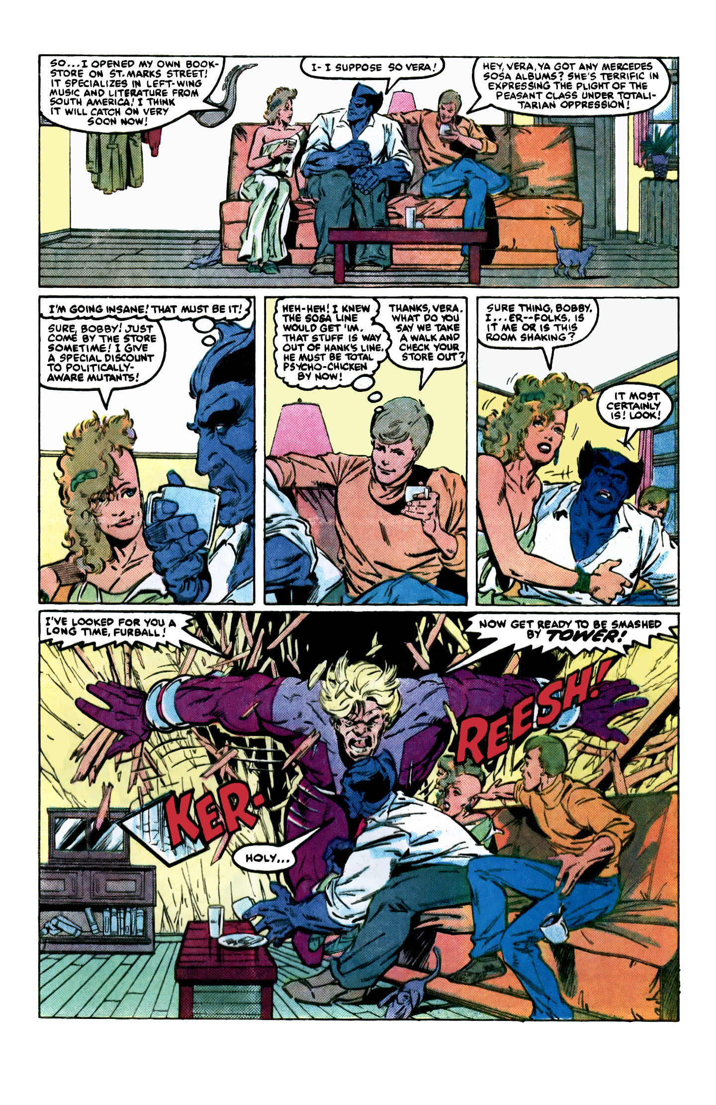Read online X-Factor (1986) comic -  Issue #2 - 11